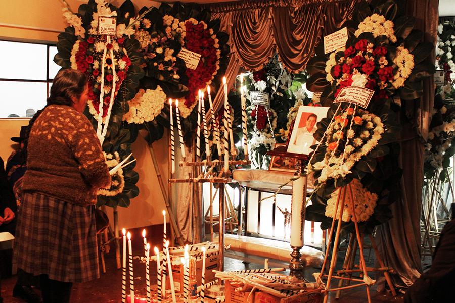 Exequias del Señor Donato Cervantes